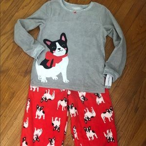 Carters size 8 pajama set new with tag